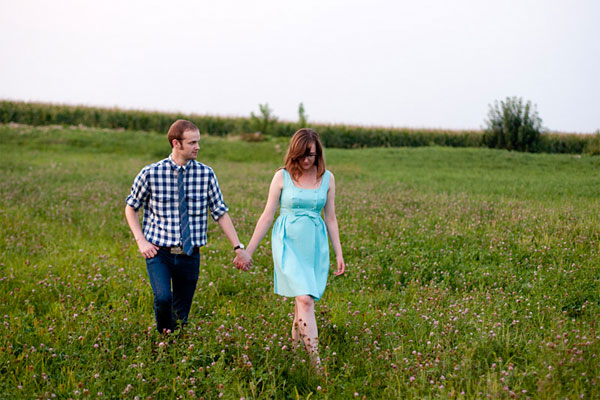 Brian West and Sarah Ervin engagement photo by Alex Creswell