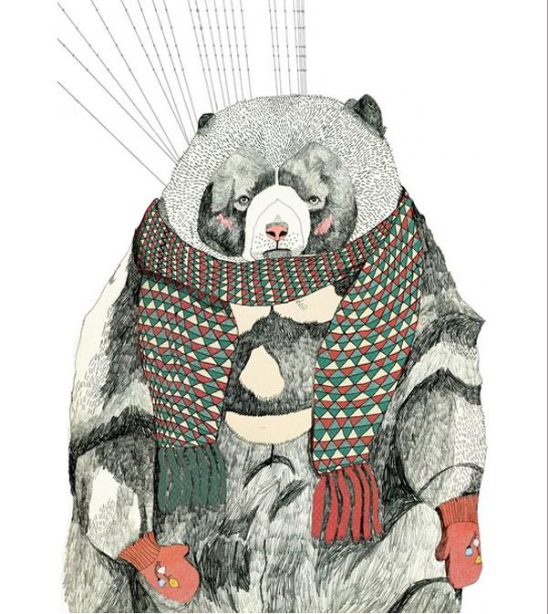 TodayILove-BearInMittens