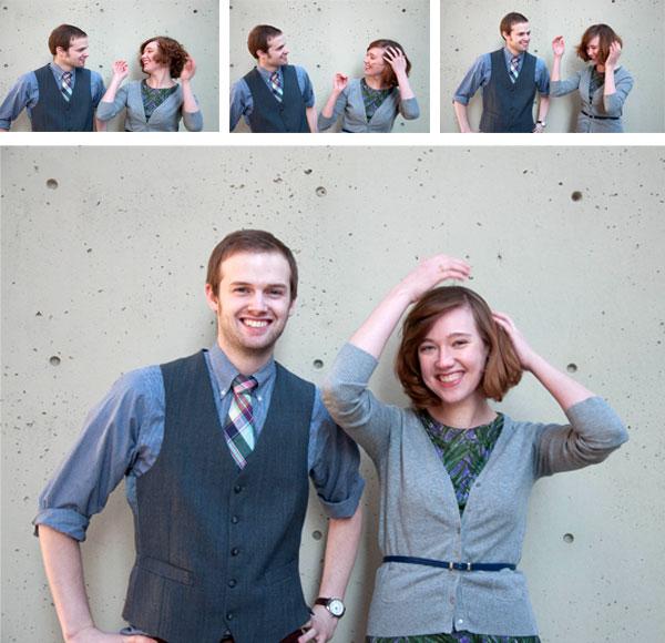 Brian West and Sarah Ervin engagement photos