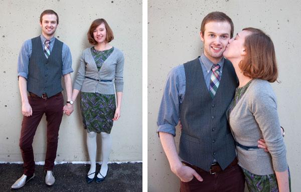 Brian West and Sarah Ervin engagment photos