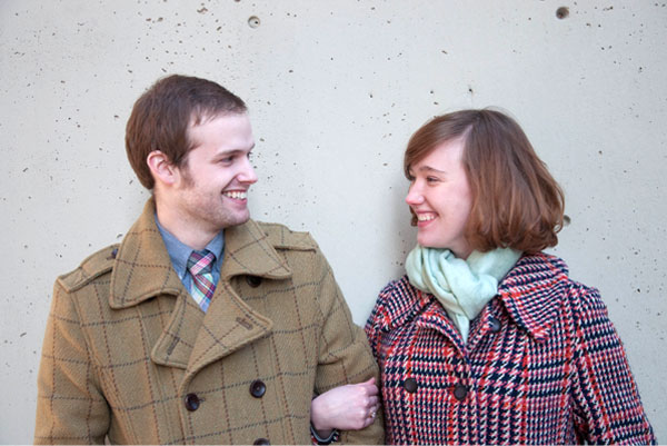 Brian West and Sarah Ervin engagement photo