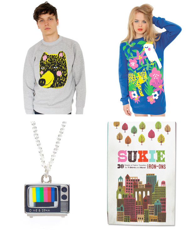 fashion clothing and accessories from Lazy Oaf