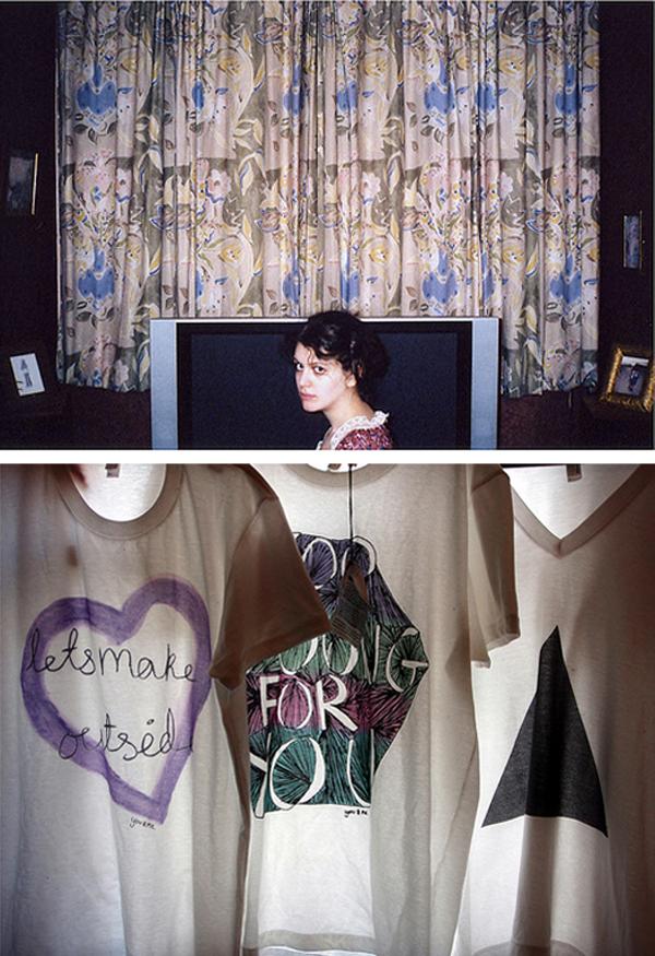 photography by Alex Howard, Ts-shirts by laura morgan