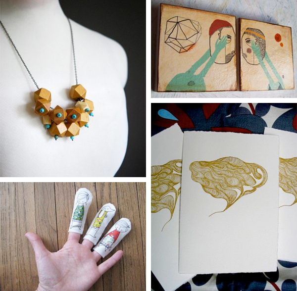 handmade art & craft from etsy