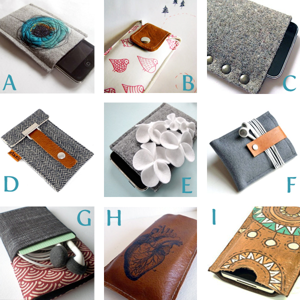handmade iPhone Cases from Etsy