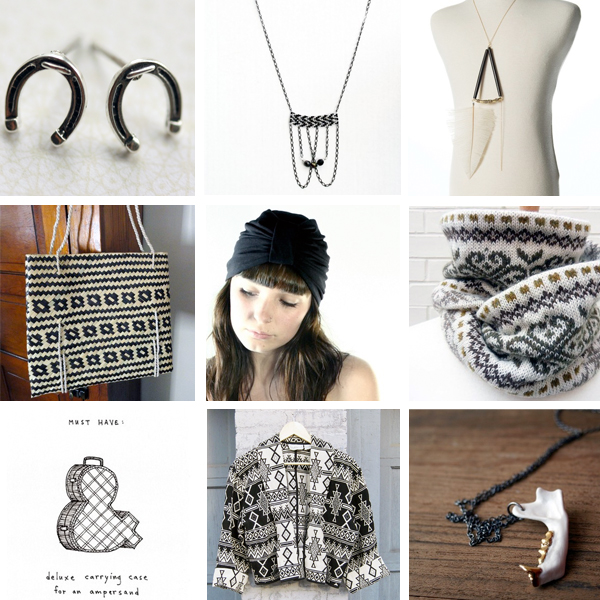 handmade & vintage from Etsy