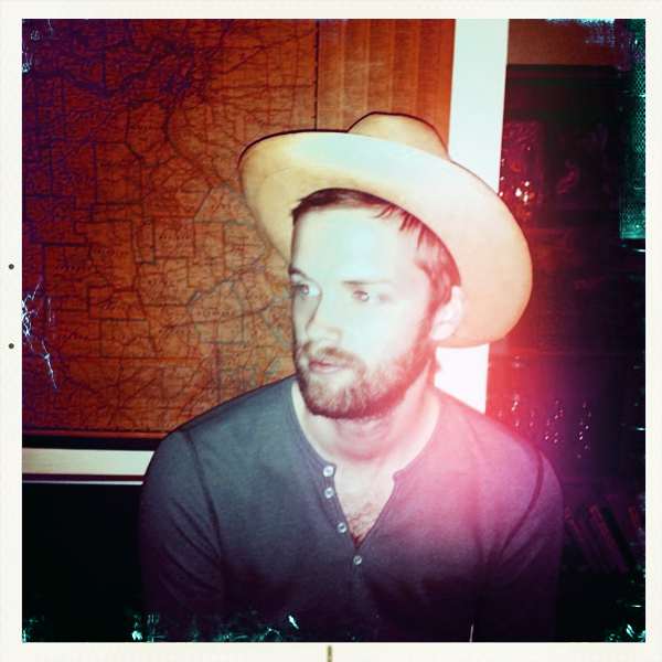 Westervin Wear: Brian West in a vintage hat