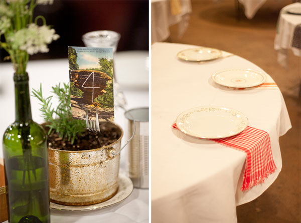 West Erving wedding table decor