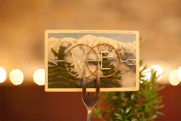 West Ervin wedding logo