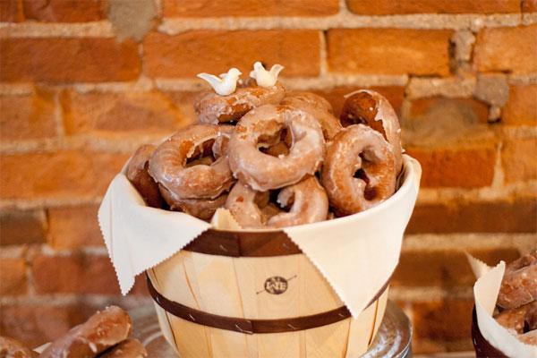 West Ervin wedding donuts