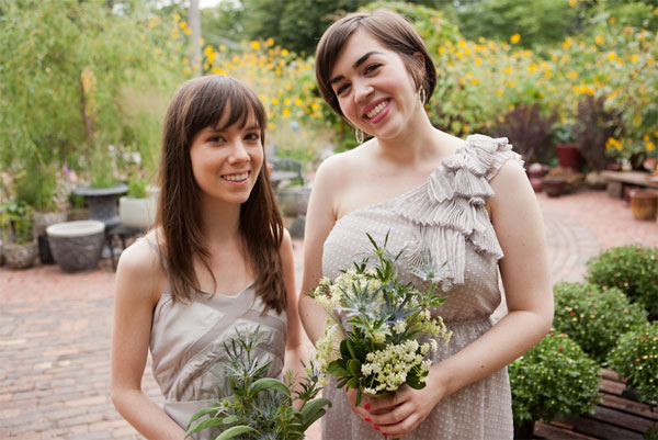 bridesmaids Grace Steinel Jones and Megan harper