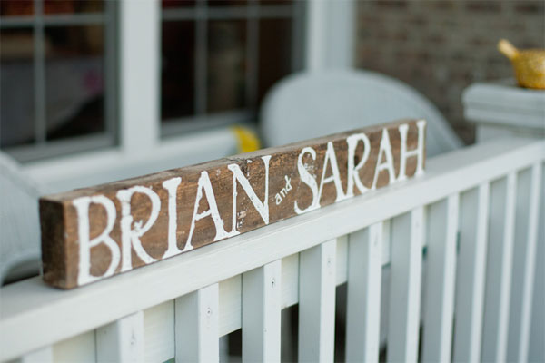 Brian West and Sarah Ervin wedding rehearsal dinner