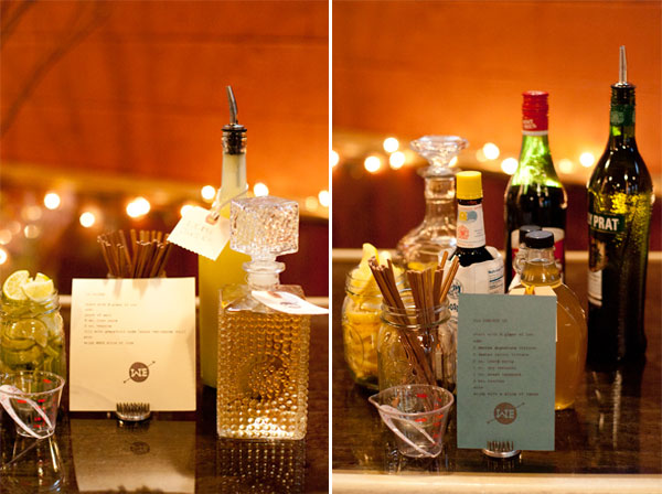 West Ervin wedding drink recipes