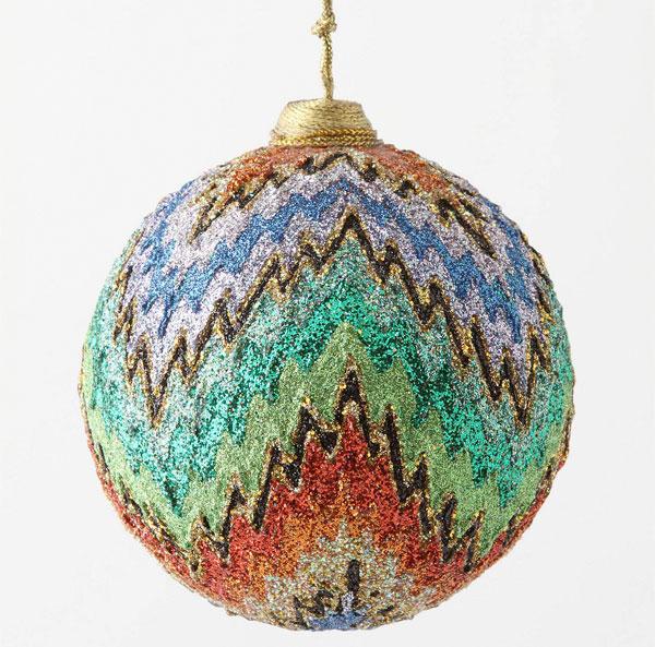 colorful zig-zag ornament
