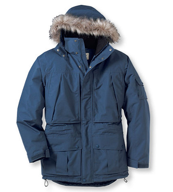 L.L. Bean Parka in blue