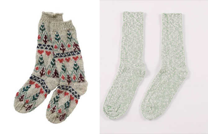 winter sweater socks