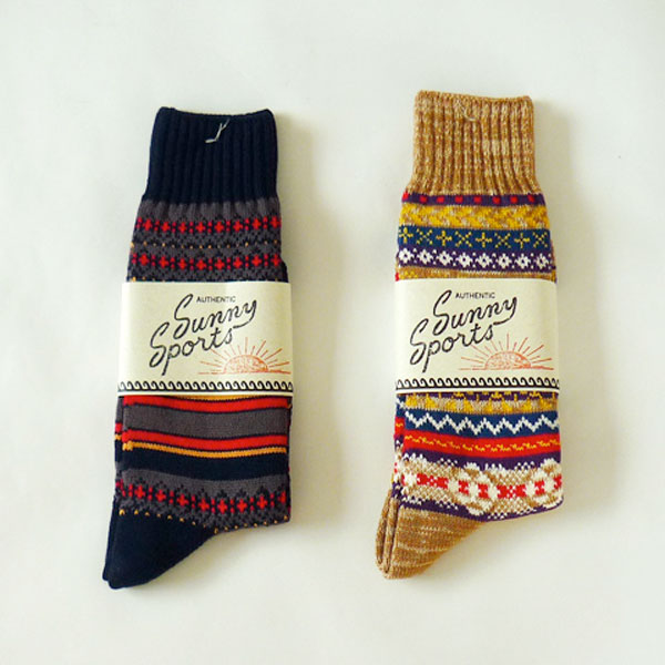 black and gold sweater socks