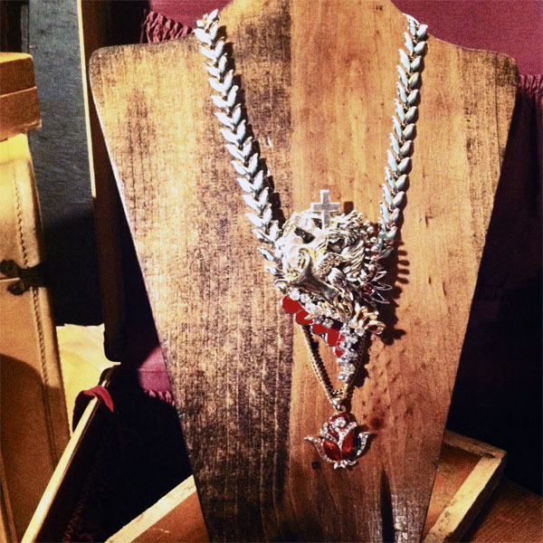 upcycled vintage jewelry by Broad Street