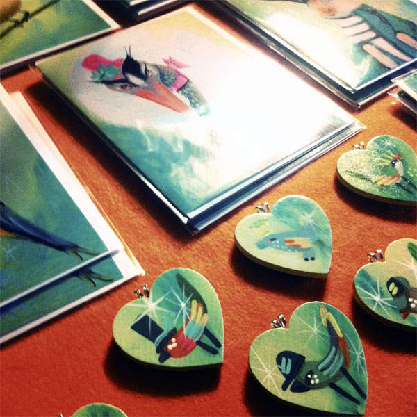art cards & pins by Anna Todaro