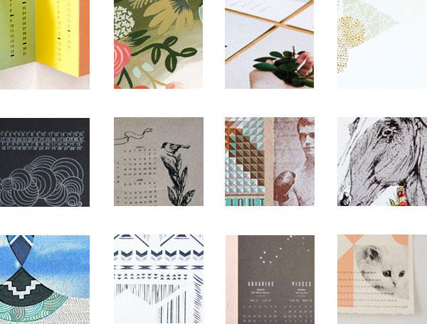 12 best calendars for 2012