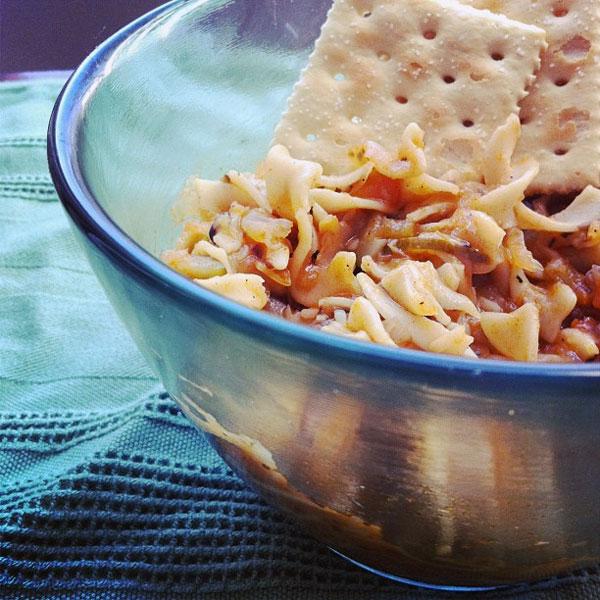 garden noodle soup bowl