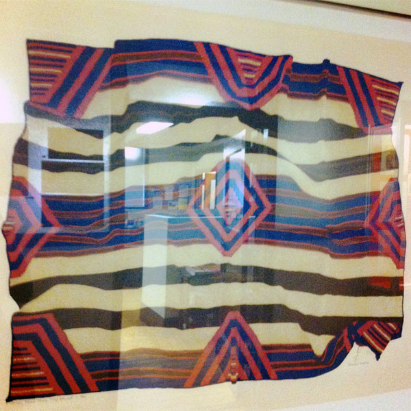 poster of ethnic textile at the Field Museum