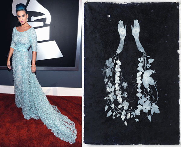 Katy Perry at the 2012 Grammys Red Carpet