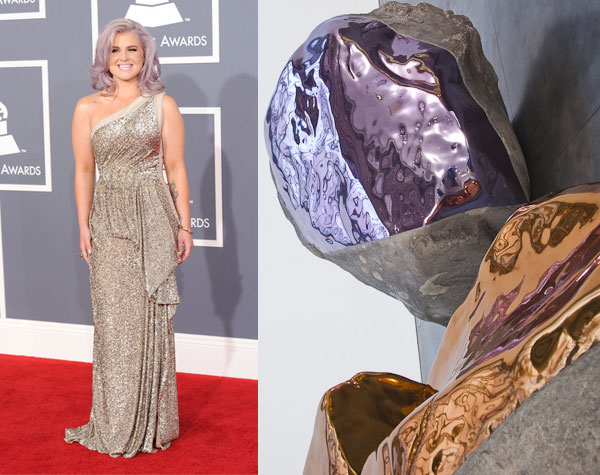 Kelly Osbourne at the 2012 Grammys Red Carpet