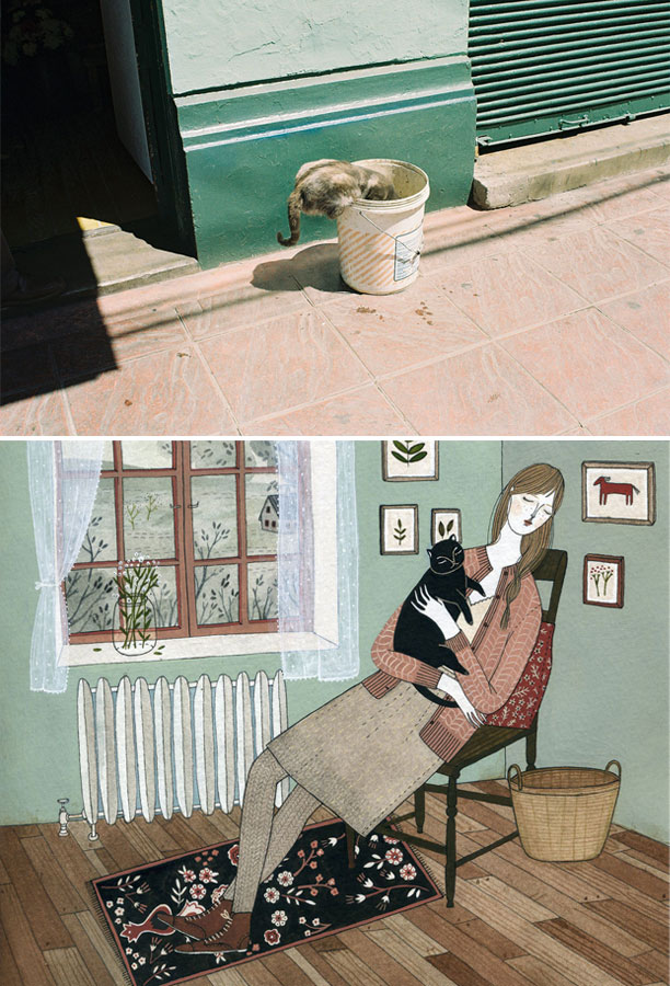 photograph by Soledad Burgos; illustration by Yelena Bryksenkova