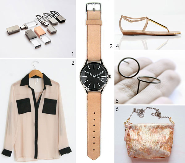 black and tan fashion and accessories