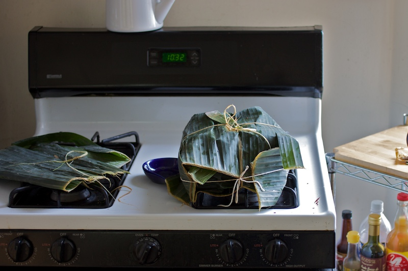 Banana Leaves for Cochinita Pibil