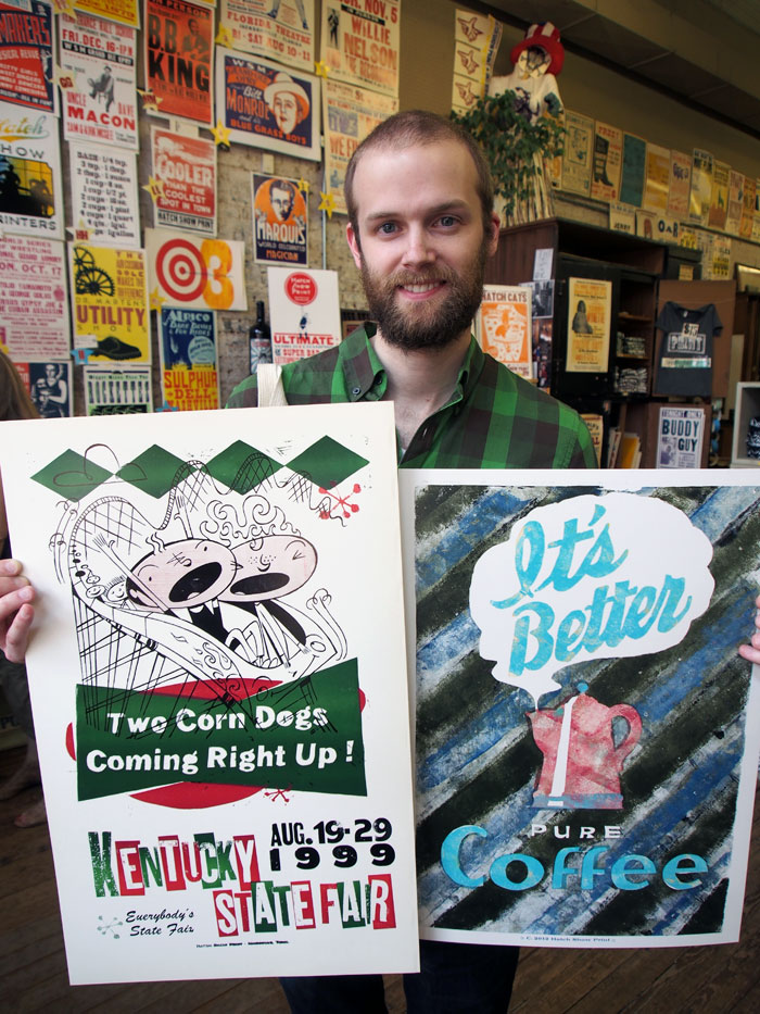 vintage prints from the Hatch Show Print Shop