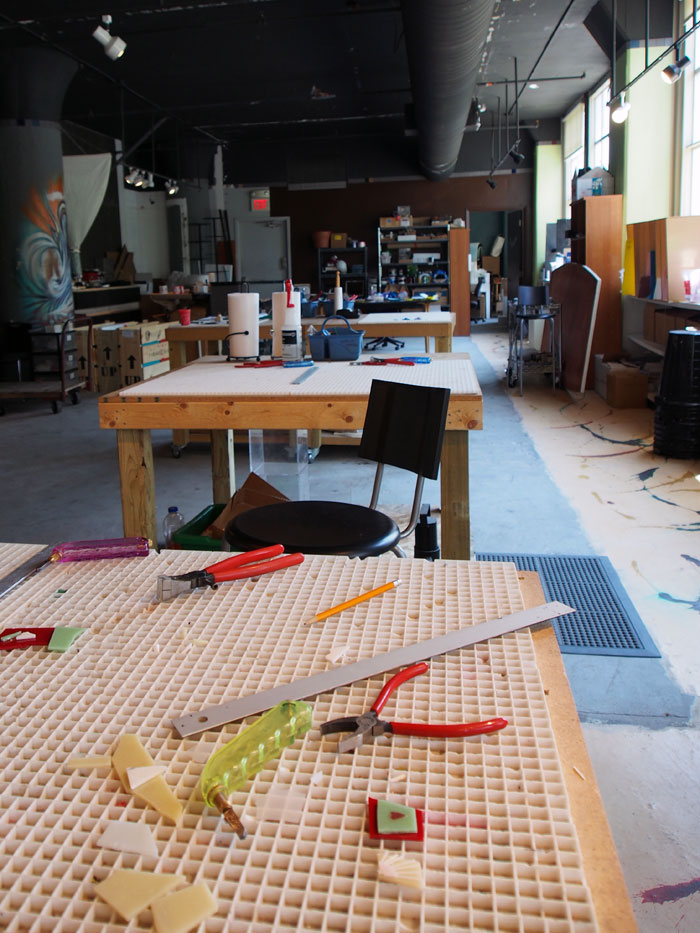 Glassworks studio in Louisville, Kentucky