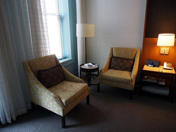 21 C Hotel room