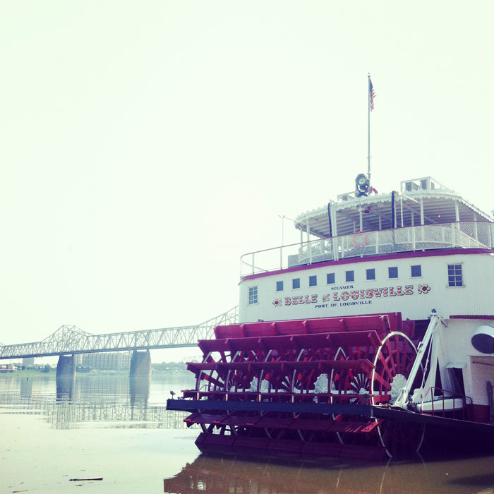 The Belle of Louisville riverboat