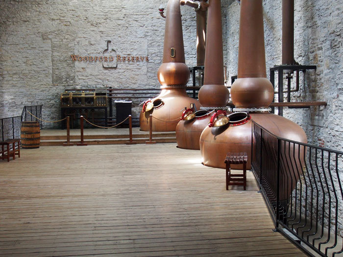 Woodford Reserve distillery to