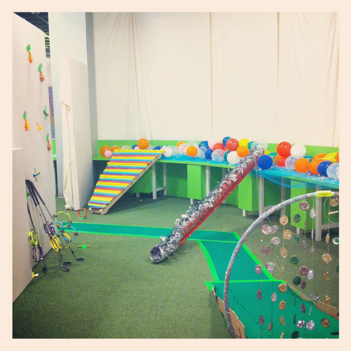 colorful carnival at PGA (Please Generate Art)