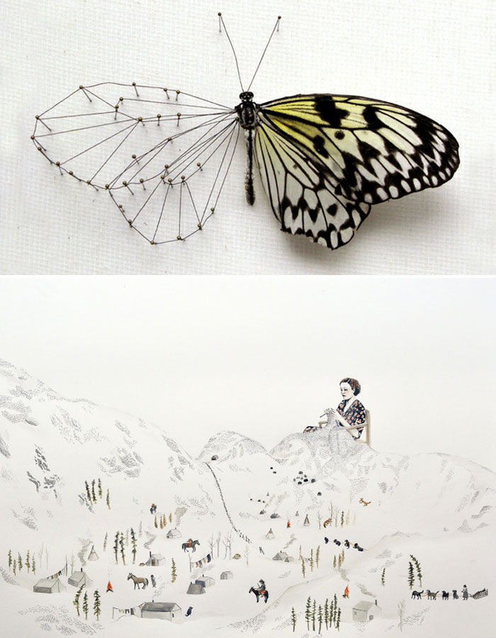 "A Pretty Pair: ""Broken Butterfly"" by Anne Ten Donkelaar & ""Howl with the Wolves"" by Sarah Burwash"