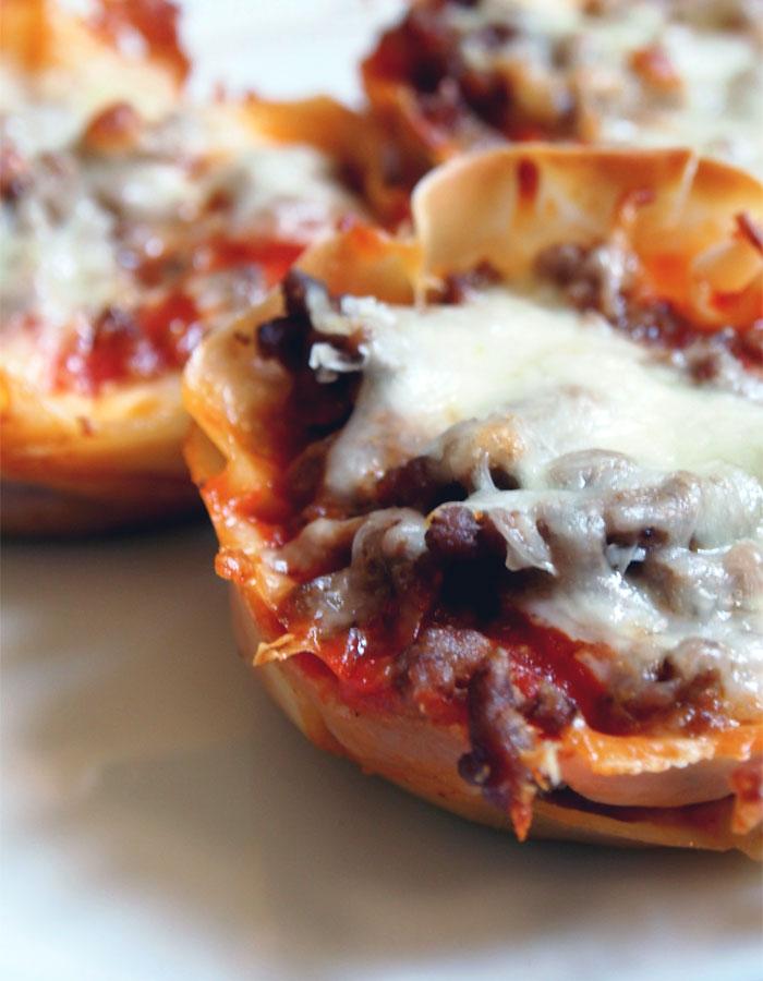 Westervin's Fine Fixin's: Lasagna Cupcakes