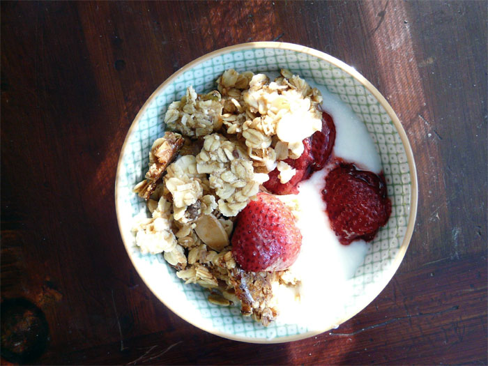 Westervin's Fine Fixin's: Roasted & Toasted Strawberry Granola