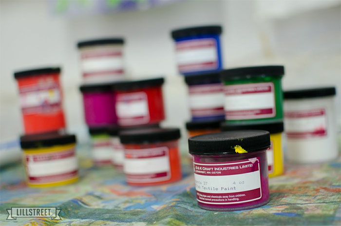 screenprinting inks in all colors
