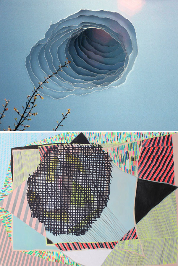 """Reaching Branch"" by Scott Hazard; ""Allegro"" by Misato Suzuki"