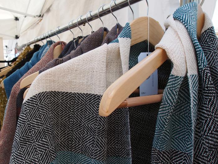handmade scarfs from Herron Clothier