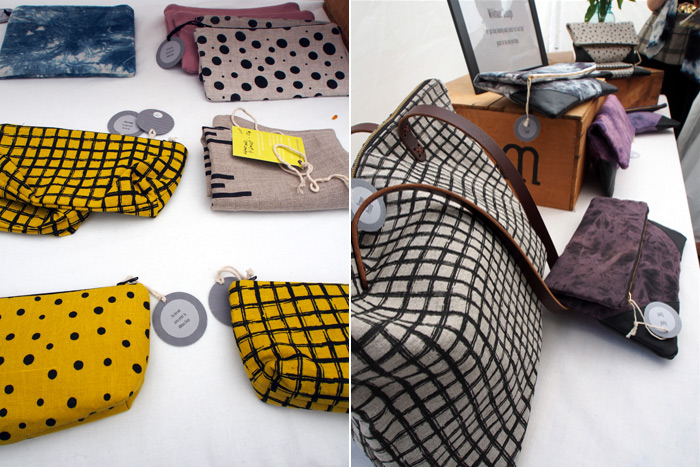 handmade purses and pouches by Milkhaus Design
