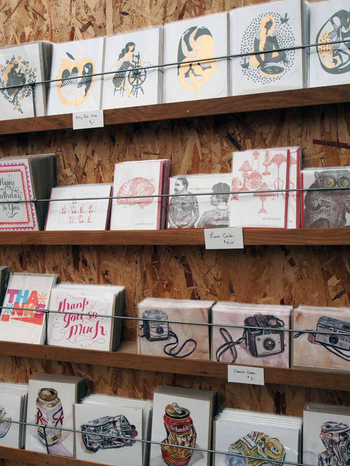 handmade cards from Bison Bookbinding & Letterpress