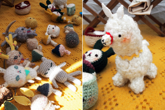 crocheted dolls from Morico