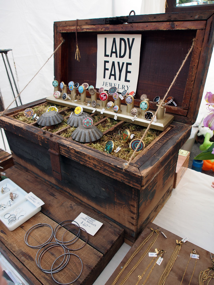 Lady Faye Jewelry at Renegade Craft Fair Chicago 2012