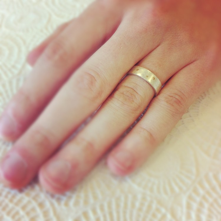 Brian's second anniversary ring