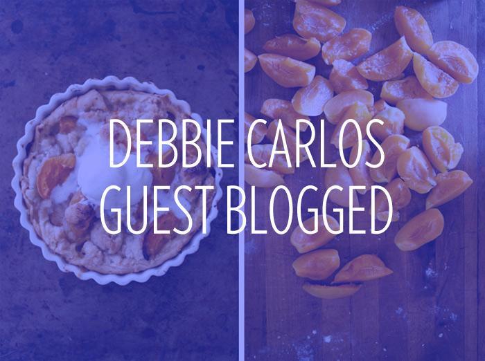 Debbie Carlos starts guest blogging