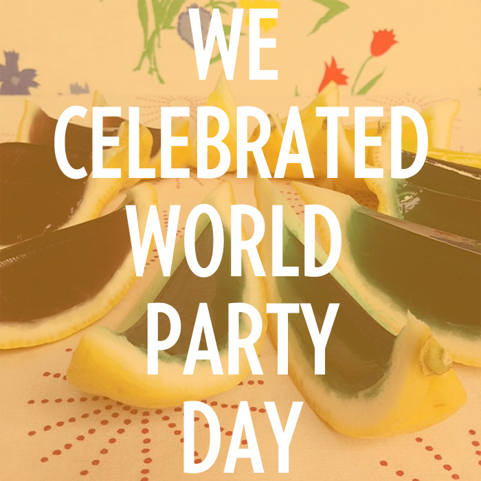 Celebrated World Party Day